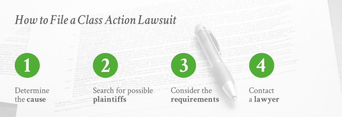 How To File A Class Action Lawsuit >> What Is A Class Action Lawsuit